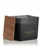 Locherber Milano Black Mat Kerze Bourbon Vanilla 1.6 Kg